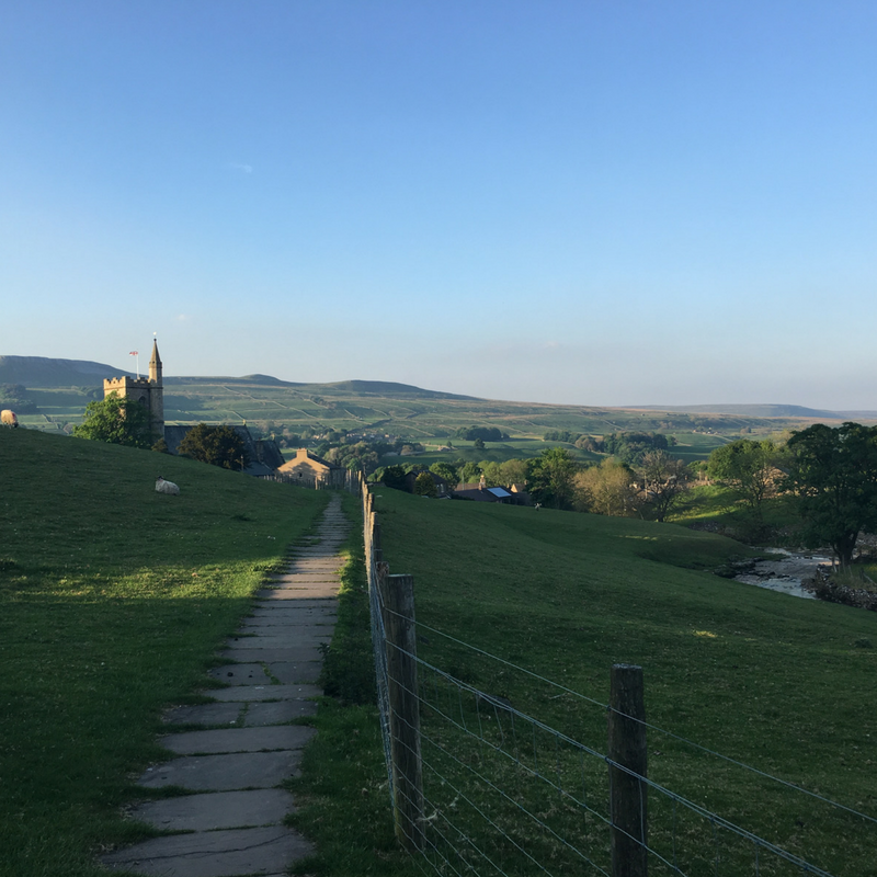 Yoga and Waterfall Walk Full Day Retreat: Hawes, Yorkshire Dales